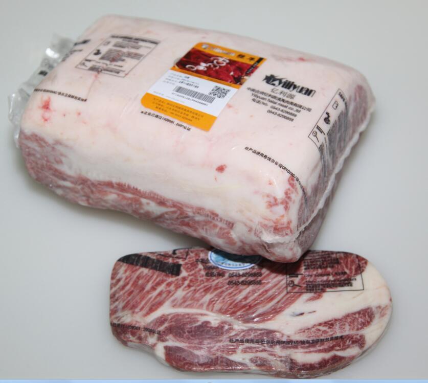 雪花牛肉之外脊